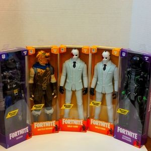 Fortnite 12-Inch Posable Action Figure Lot